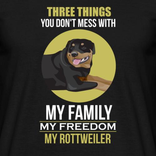 Ne plaisante pas avec ma famille, ma liberté ou ma