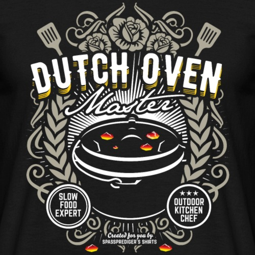 Dutch Oven T Shirt Dutch Oven Master