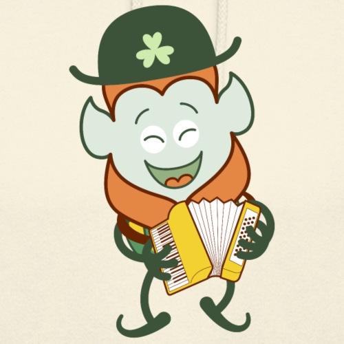 St Patrick's Day Leprechaun playing accordion