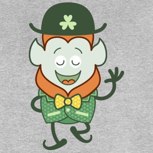 St Patrick's Day Leprechaun wearing clover costume