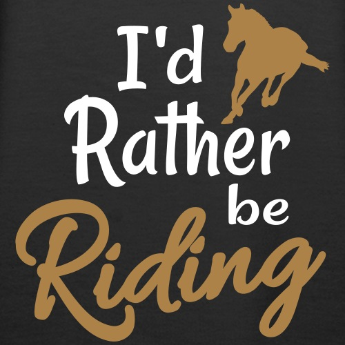 rather be riding horse