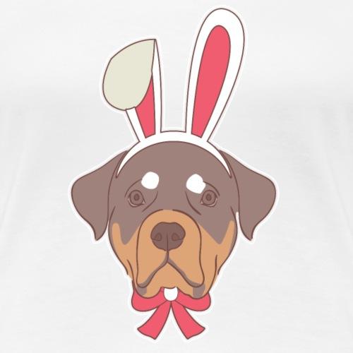 Rottweiler chien de lapin de Pâques Joyeuses Pâques Cadeau Ha
