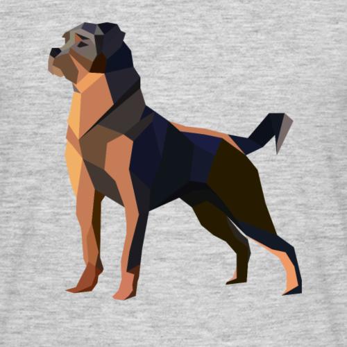 Dessin de polygone pour chien Rottweiler