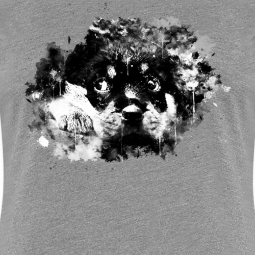 Rottweiler chiot chien ws bw