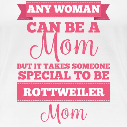Chien / Rottweiler: Toute femme peut être une maman, mais