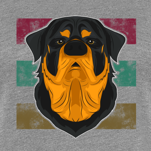 Cadeau rétro Rottweiler