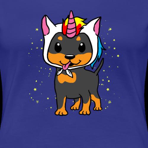 Licorne chien licorne Rottweiler cadeau drôle