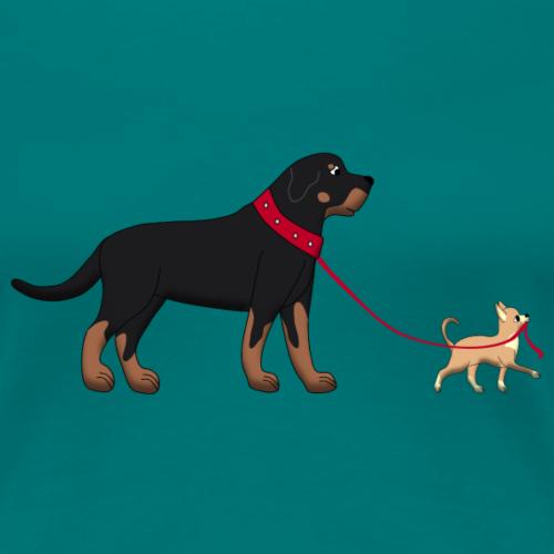 Rottweiler & Chihuahua 2