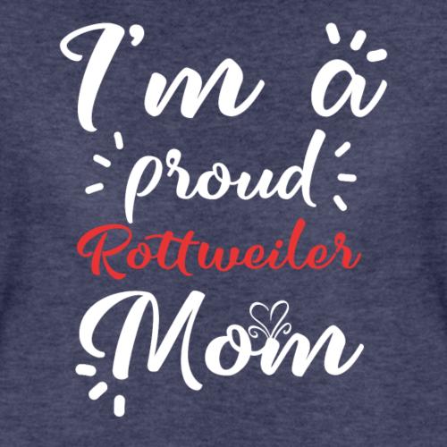 Rottweiler chemise pour fière maman Rottweiler