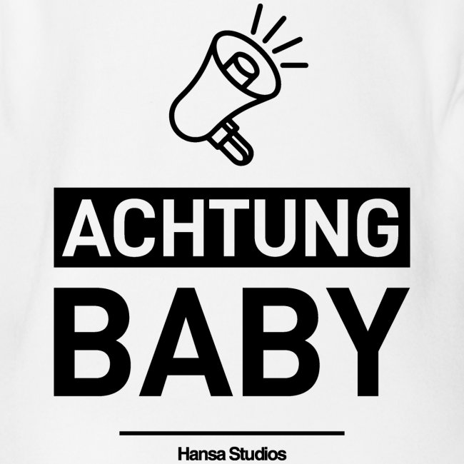 Hansa Studios Baby Body I Achtung Baby White