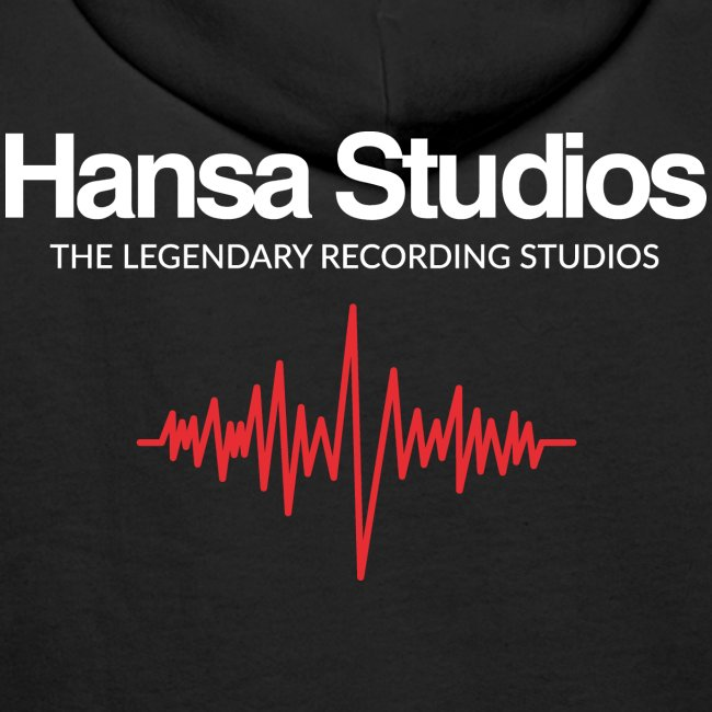 Hansa Studios Hoodie I Studio Line Black