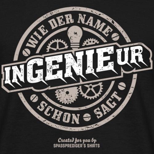 Ingenieur T Shirt Genie | Geschenkidee für Ingen
