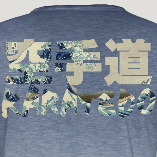 Karate Hokusai The Great Wave