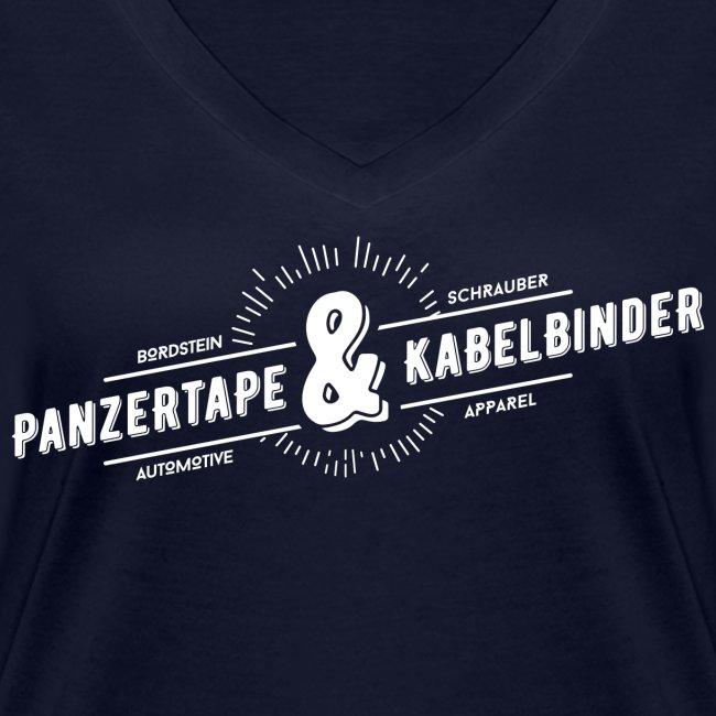 """BRDSTN Shirt """"Panzertape & Kabelbinder"""" Frauen Navy"""