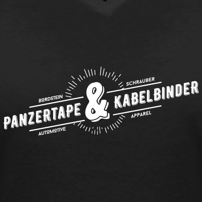"BRDSTN Shirt ""Panzertape & Kabelbinder"" Frauen Schwarz"