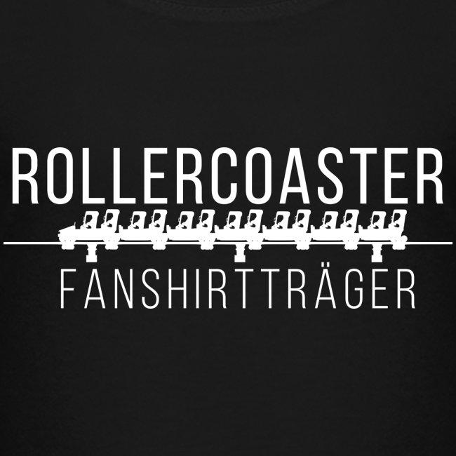 Kiddie-Shirt - Rollercoaster Fanshirtträger