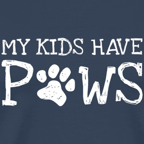 my kids have paws