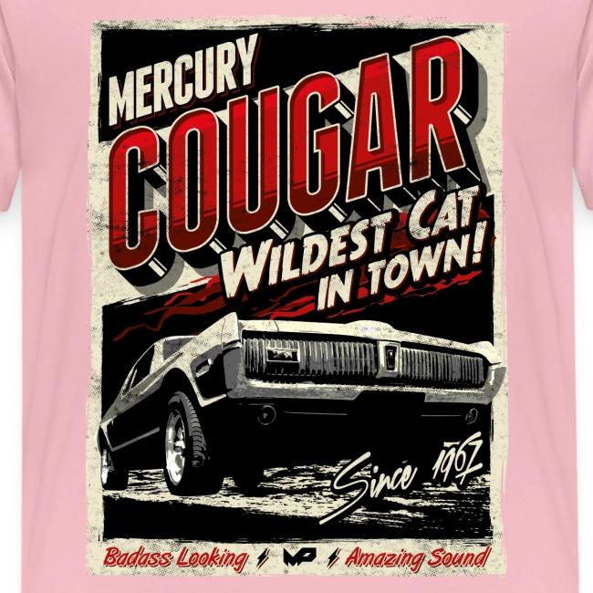 Cougar / Rot / Kinder T-Shirt