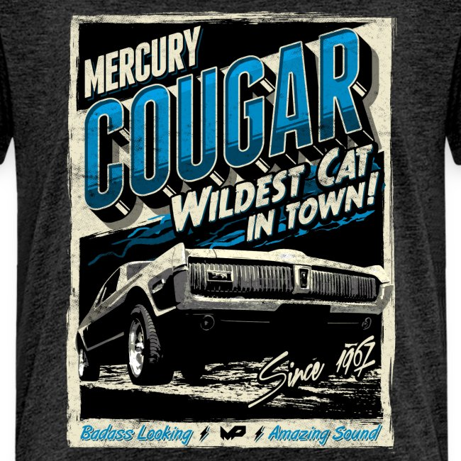 Cougar / Blau / Kinder T-Shirt