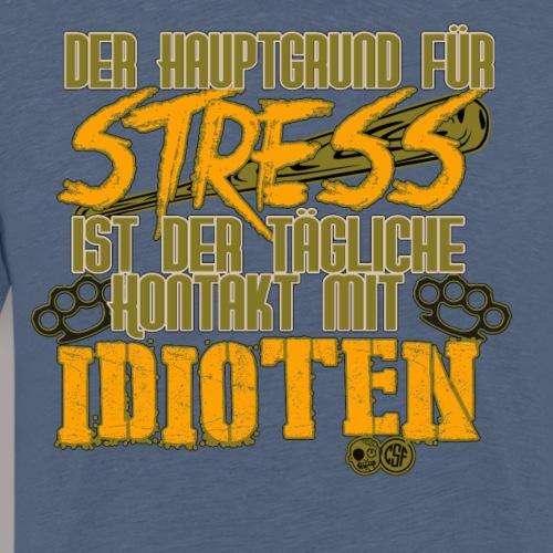 Der Hauptgrund für Stress ist der tägliche Kontakt