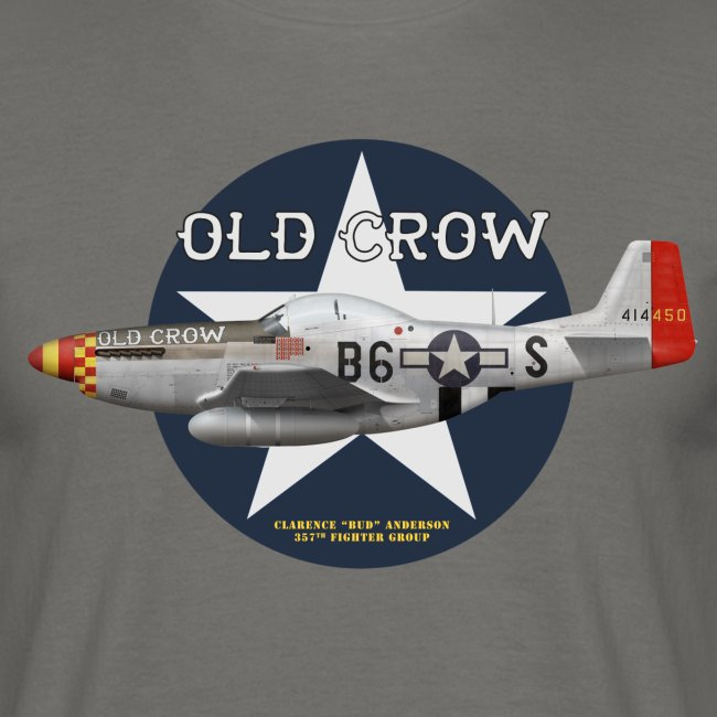 "P-51  ""Old Crow"""