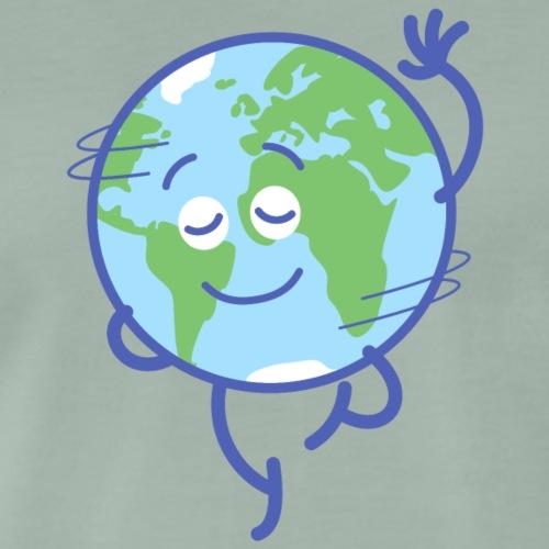 Nice planet Earth rotating graciously