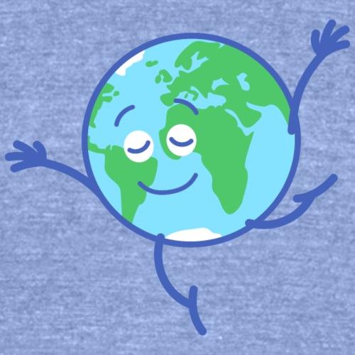 Cute planet Earth dancing graciously
