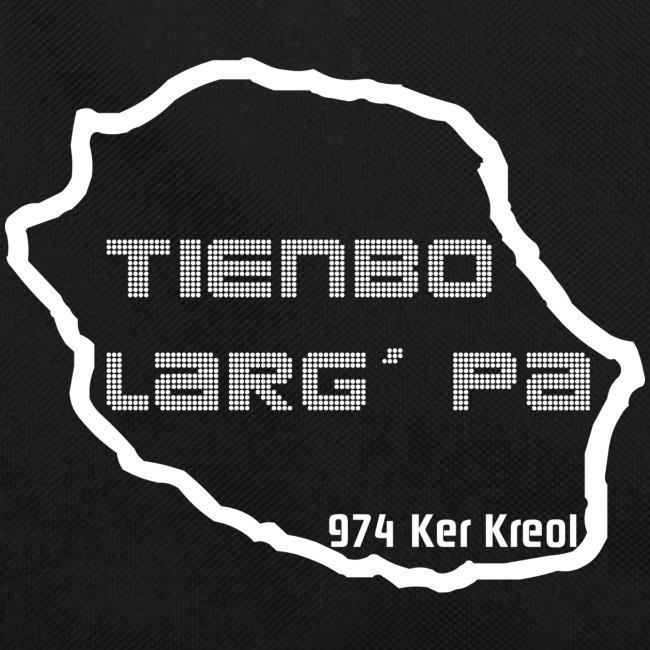 Sac Retro Tiembo larg pa 974 ker kreol - La réunion