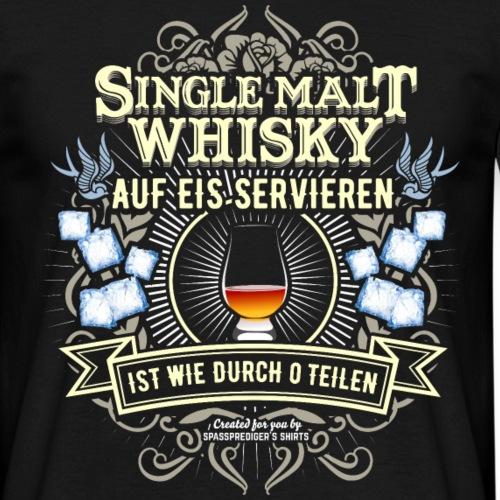 Whisky T Shirt Single Malt