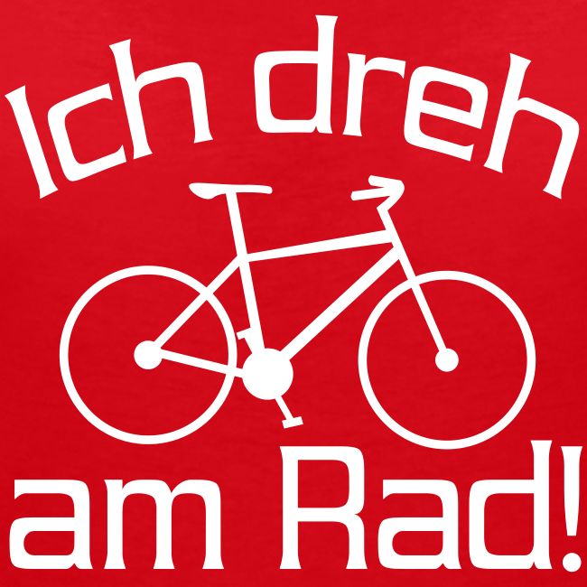 Fahrrad fahren Spruch T-Shirt