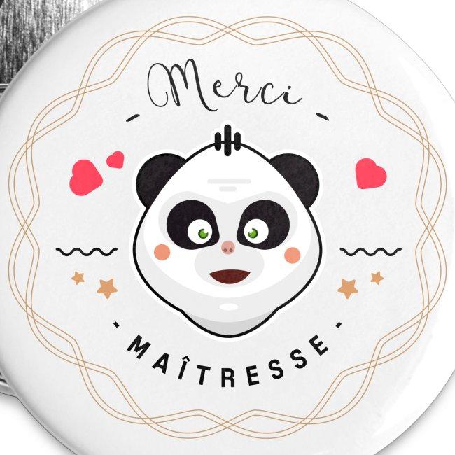 Merci maitresse-panda Badges