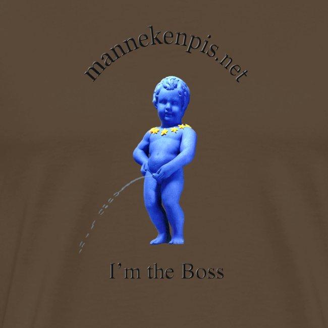 I'M THE BOSS ♀♂ | manneken pis