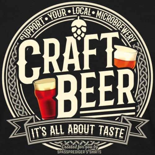 Craft Beer T Shirt Design für Biertrinker