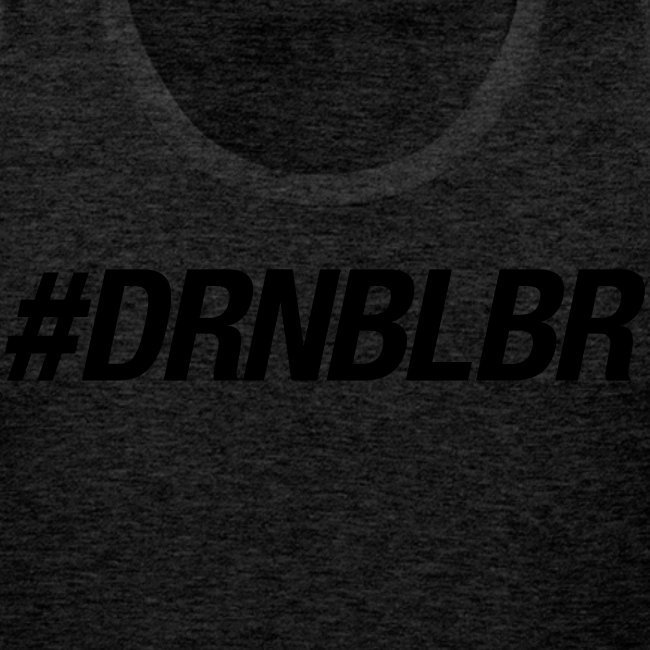 #DRNBLBR Tanktop Herren black