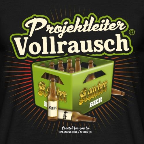 Bier T Shirt Projektleiter Vollrausch®