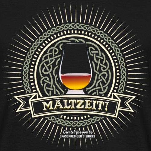 Single Malt Whisky T Shirt Maltzeit