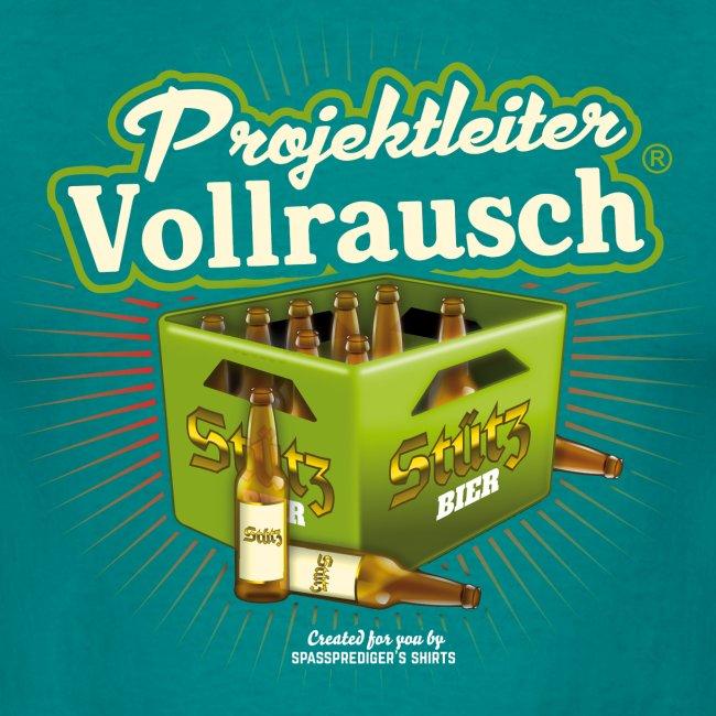 Bier T Shirt Projektleiter Vollrausch (R)