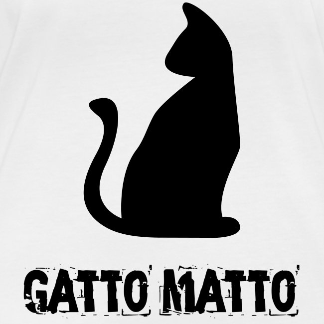 Manica lunga il Gatto Matto Donna