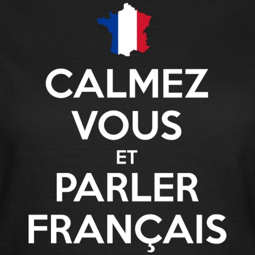 Calmez Vous et Parler Français (dark)