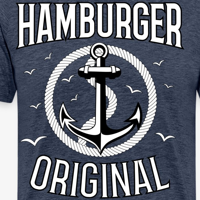 95 Hamburger Original Anker Seil