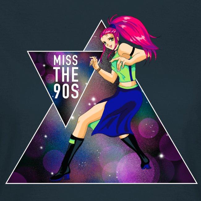 T-Shirt - Miss the 90s (Mädels)