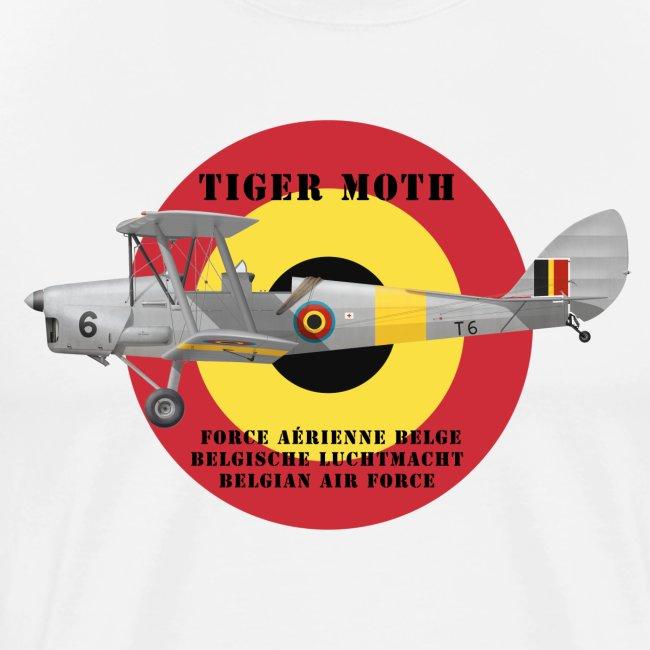 DH.82 Tiger Moth, Belgian Air Force
