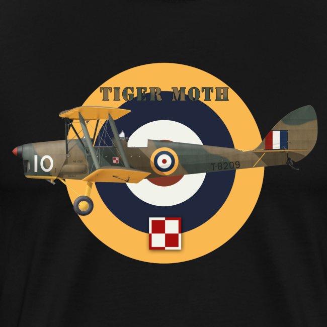 DH.82 Tiger Moth, Royal Air Force