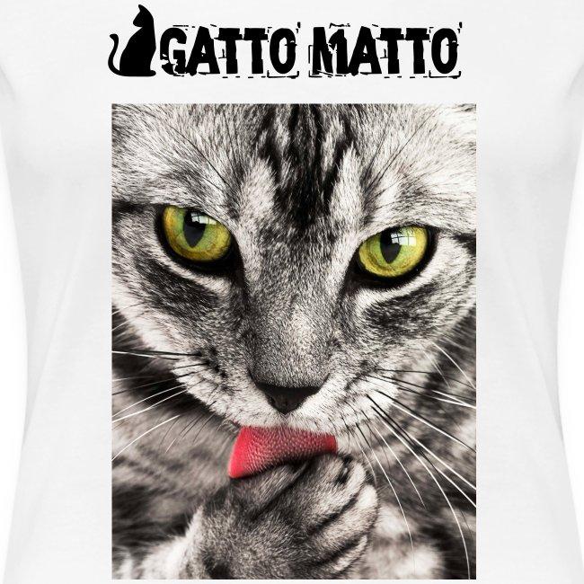 T-shirt donna Tobby il gattino