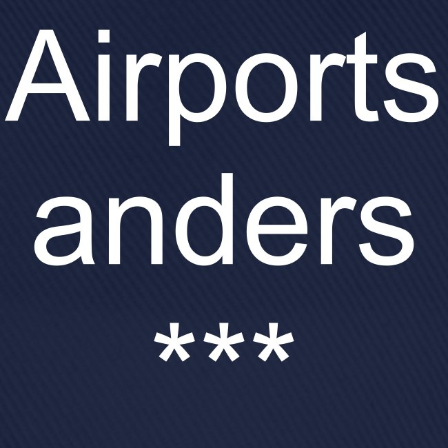Cap Airports anders