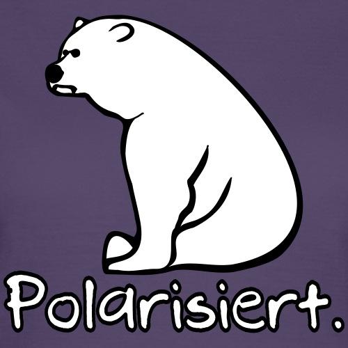 Polarisierender Eisbär