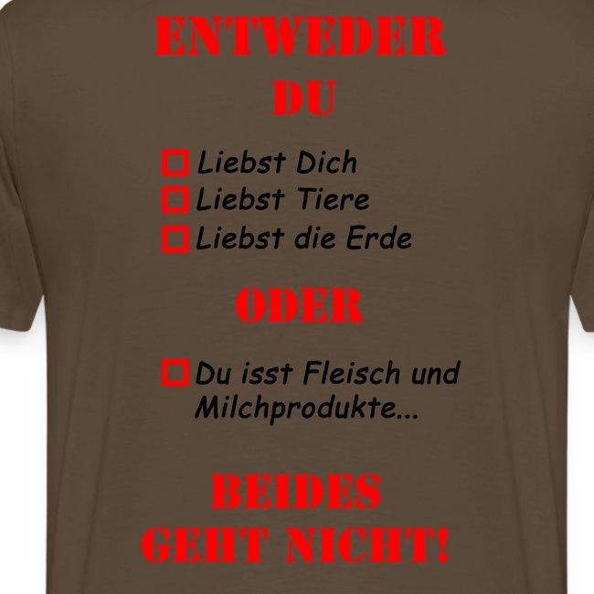 Entweder Oder T-Shirt