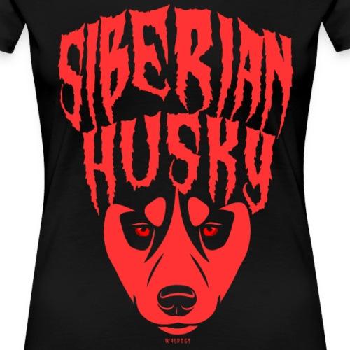 Siberian Husky Red