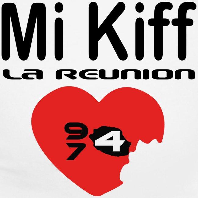 T-shirt de grossesse Femme Mi Kiff la Réunion