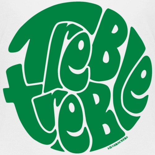 Treble Treble Green